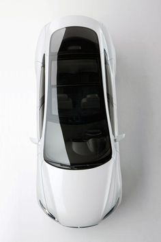 Tesla Model S. A sedan that seats seven...just because it can.