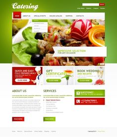 Catering Service Free Flyer Template | vita poster | Pinterest ...