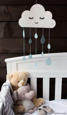 Paper DIY Baby Mobile