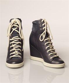 See by Chloé Sneaker Wedges - Dark Blue - Women's style: Patterns of sustainability Wedge Sneakers, High Top Sneakers, Sneaker Wedges, Catwalks, See By Chloe, Me Too Shoes, Dark Blue, Sporty, Leggings