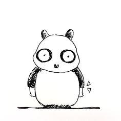 【一日一大熊猫】2017.6.2 暑いと思い今日から長袖をやめました。 と言ってもヘタレ感が丸出しの半袖ではなくて七分袖です。 #パンダ