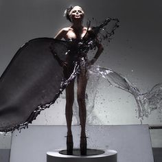 Daphne Guinness by Iris van Herpen for SHOWSTUDIO