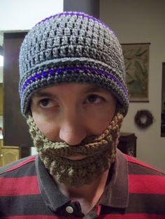 Our 7 Acres: The Beard Hat - Crochet Tutorial