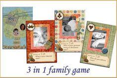 Family history game - genealogy