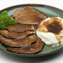 Νόστιμη και γευστική συνταγή για μοσχάρι με μπαλσάμικο και υπέροχο πουρέ πατάτας. Food To Make, Kai, Pork, Sweets, Cooking, Breakfast, Recipes, Party Time, Greek