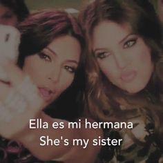 #learnspanish #spanish #spanishclass #speakspanish #spanishproject #english #eningles #enespañol #hermana #mihermana #sister #sisters #mysister #mysisterisbetterthanyours #mihermanadelalma #kardashians #chloekardashian #kimkardashian