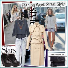 """""""Fashion Week Street Style"""" by fashiontake-out ❤ liked on Polyvore"""
