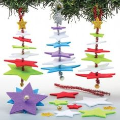 star christmas tree decoration kits