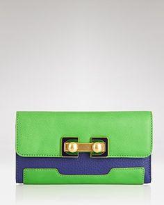 marc by marc jacobs bob's memphis trip color block trifold wallet