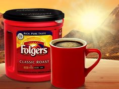 Folgers- next best thing to Dunkin' Donut's coffee