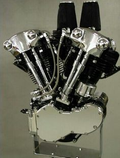 Harley Davidson. Knucklehead. Heart