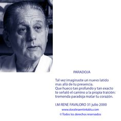 Homenaje Rene Favaloro by Dora Emilia Littvik