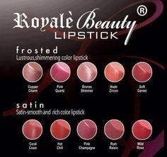 Royale Lipstick.