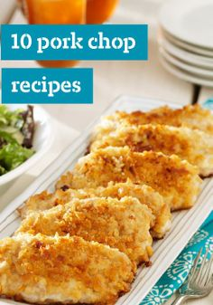 10 Pork Chop Recipes  From Healthy Living suppers to pork chops smothered in sauce, our pork chop recipes rival chicken dishes in the versatility department!