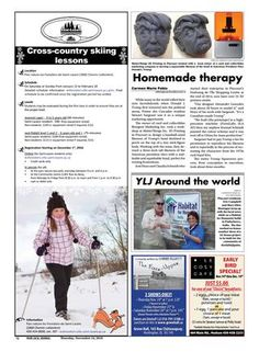 Your Local Journal - November 2016 Cross Country Skiing, 3d Prints, Habitats, November, Around The Worlds, Author, Journal, Books, Livros