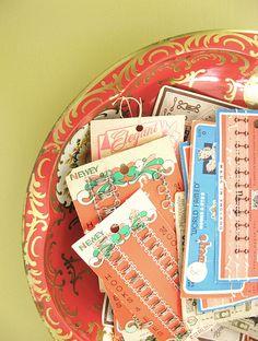 hook & eye... | cards found when rummaging through my mum's … | Flickr