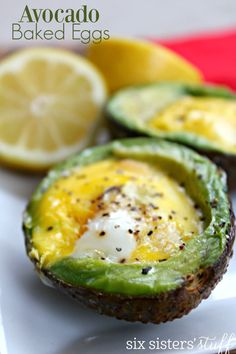 Avocado Baked Egg Re