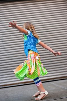 There's no better place to look for girls boutique clothing online than TwirlyGirl.  This is our Pinwheel Skirt.  It always brings a smile!  Click to see more.