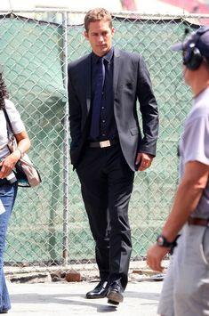 Paul Walker Photos Photos - Bone Deep films in downtown Los Angeles, CA.  On hand were singer Chris Brown- who was visited on set by girlfriend Rihanna, actor Paul Walker and actor Matt Dillon. - Bone Deep Films in Downtown LA
