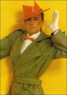 Steve Strange Mr New Romantic, new wave