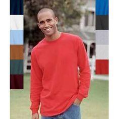 Hanescotton Long Sleeve T-Shirt - Maroon 5286 3XL (Apparel)