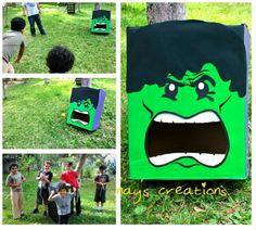Hulk tossing game