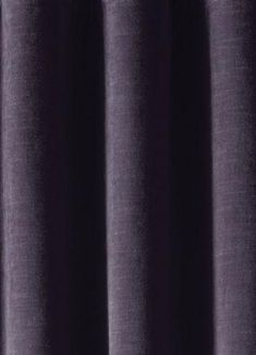 "Dark Purple Oval Design /""Aida/"" Chenille Heavy Upholstery Fabric"
