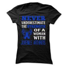 Juvenile Arthritis - #diy gift #grandma gift. BEST BUY => https://www.sunfrog.com/LifeStyle/Juvenile-Arthritis-52875201-Ladies.html?68278