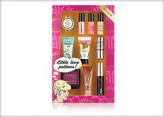 Benefit Cosmetics - little love potions #benefitgals...Good Christmas gift idea for any makeup lover !