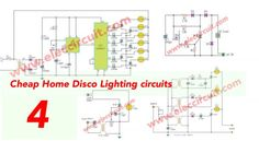 33 best controller circuits images circuits, arduino, circuit diagramcheap home disco lights circuit by scr ic555 ic4017
