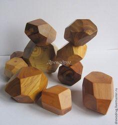 Развивающие игрушки ручной работы. Ярмарка Мастеров - ручная работа. Купить Гора камней (Tumi Ishi), деревянные игрушки. Handmade.