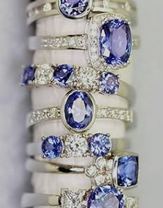 We choose around 50 Tanzanite Jewelry that really great for your engagements rings or others fashions accessories. This Tanzanite Gemstone looks amazing and stunning. I Love Jewelry, Jewelry Rings, Jewelry Accessories, Fine Jewelry, Jewelry Design, Jewelry Box, Jewlery, Girls Jewelry, Macrame Jewelry