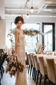 Wedding Images, Wedding Styles, Wedding Bouquets, Wedding Dresses, Now And Forever, Dream Dress, Boho Wedding, Wedding Bride, Dried Flowers