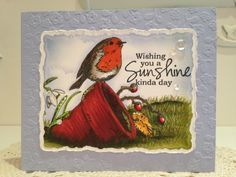Snowy Sunshine!! by mitchygitchygoomy - Cards and Paper Crafts at Splitcoaststampers