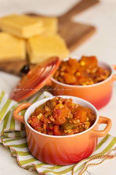 Turkey & Butternut Squash Crockpot Chili