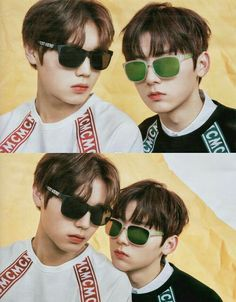 Minhyun and Jihoon Nu Est Minhyun, Cho Chang, All About Kpop, Produce 101 Season 2, Happy Together, Kim Jaehwan, Ha Sungwoon, Korean Star, 3 In One