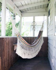 Tiny back porch (via Design*Sponge)