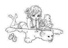 Dark Goldilocks by *JadeDragonne on deviantART