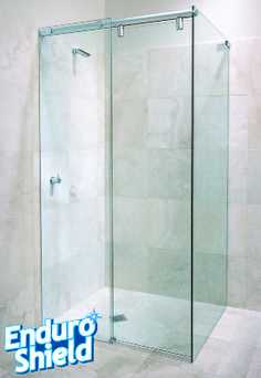 Captivating EnduroShield Easy Clean Glass Treatment Can Be Applied To All New Or  Existing Glass Shower Doors