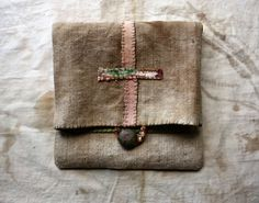 LaTouchables Bags and Things---a little story with a thread running through it...: Symbol of Life Pouch