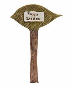 Another great find on #zulily! Leaf Garden Stake by Wholesale Fairy Gardens #zulilyfinds