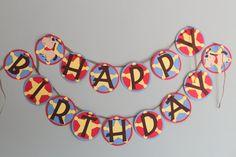 Cowboy Birthday Banner by calladoo on Etsy, $30.00
