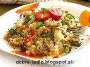 Zeleninový kuskus Fried Rice, Fries, Ethnic Recipes, Food, Essen, Meals, Nasi Goreng, Yemek, Stir Fry Rice