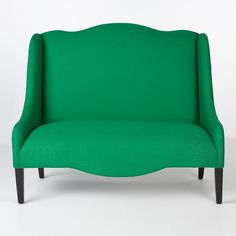 green sofa chair - to hold court in my living room