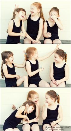 """Do your kids love to be silly and make """"bunny ears"""" during photos?"""