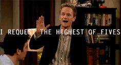 How I Met Your Mother Barney highest of fives