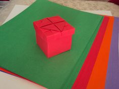 Origami Party Favor Treat Boxes with Lids ($16.00 for Set of 8)