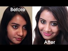 Simple and Natural Makeup Tutorial For Beginners – My First Ever Youtube Video | Glamour Journals