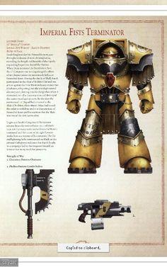 Imperial fist terminator