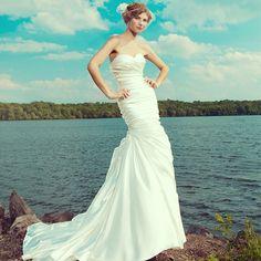 Style 3666! Are you having a beach wedding? Sincerity Bridal